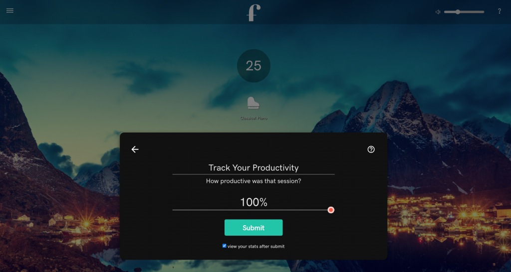 focus at will productivity tracker